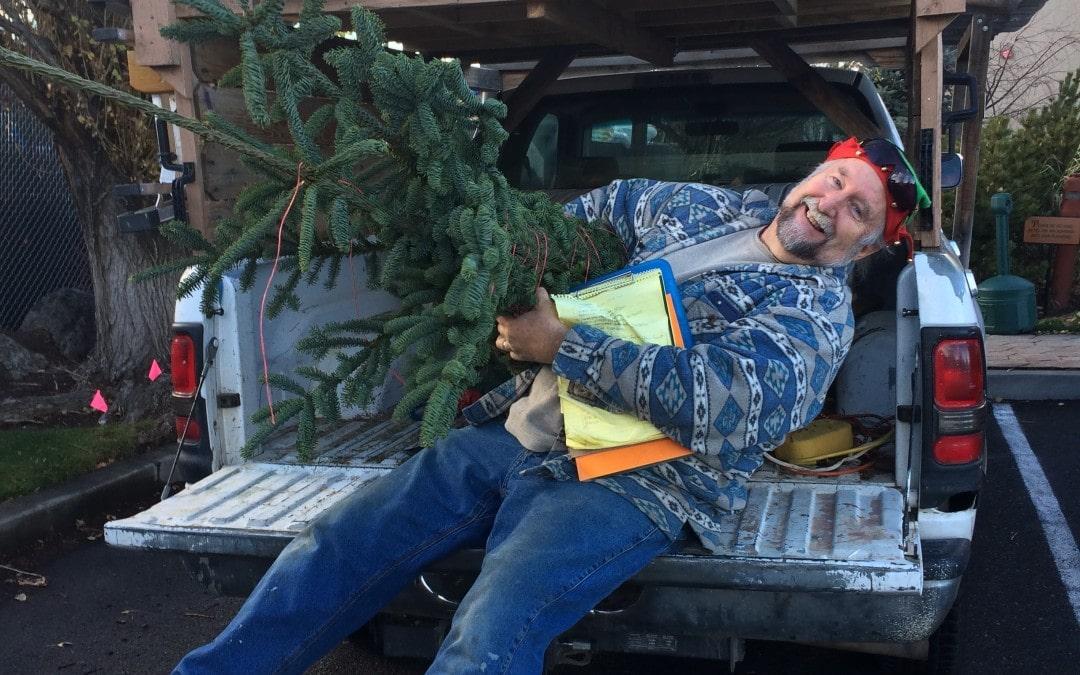 Santa's on his way…