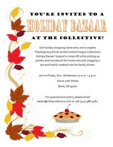 Holiday Bazaar flyer (November) JPEG