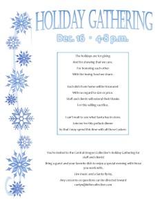 Holiday Gathering Flyer JPEG