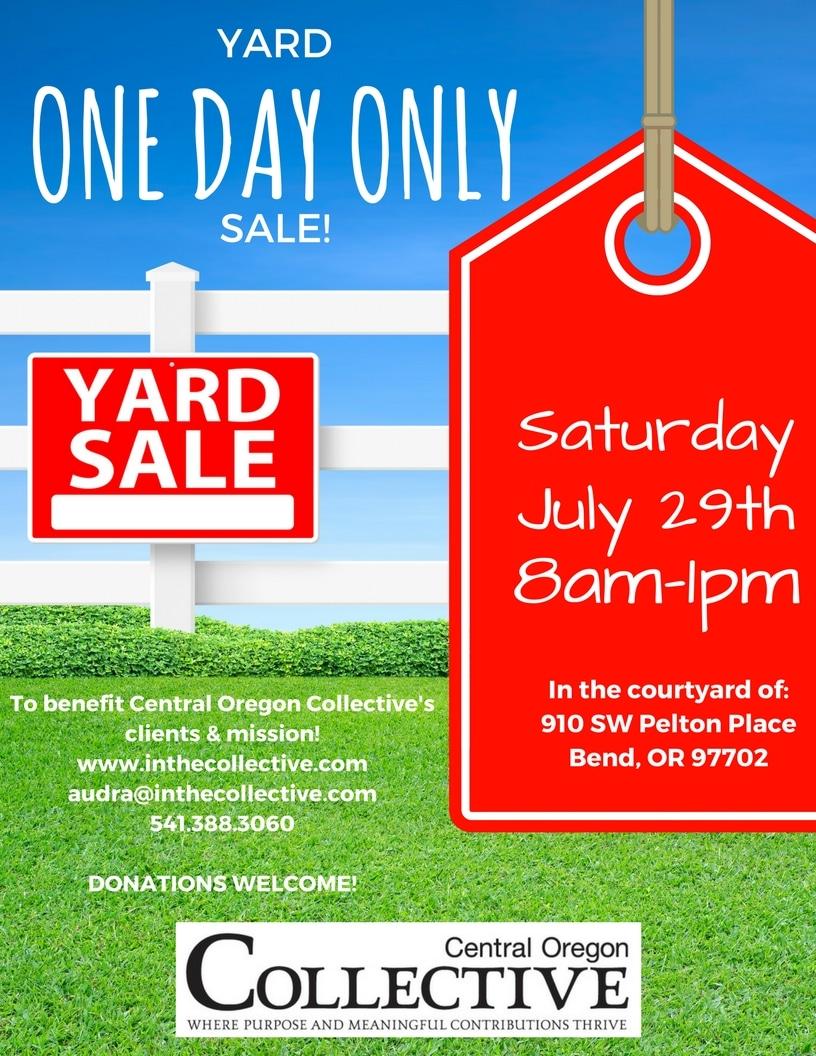 COC Yard Sale